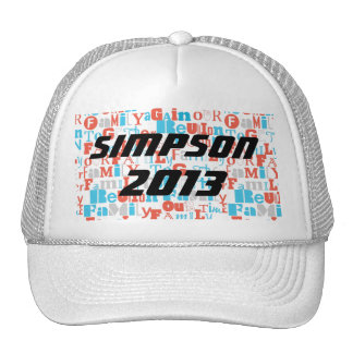 Family Reunion Hat
