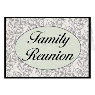 Family Reunion Invitation Greeting Card
