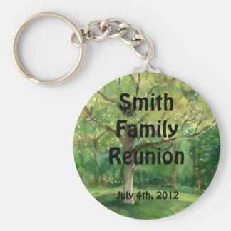 Family Reunion Keepsake Key Ring Key Chain