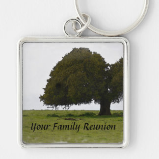 Family Reunion Key Chain and Oak Tree