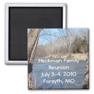 Family Reunion Magnet-customise Square Magnet