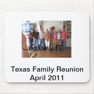 Family Reunion Mouse Pad