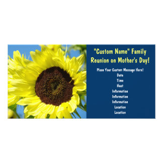 Family Reunion on Mother's Day! Event Invitations Personalized Photo Card