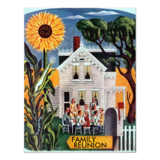 FAMILY REUNION PARTY INVITATION ~ EZ TO CUSTOMIZE