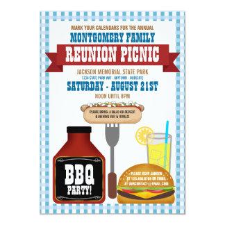 Family Reunion Picnic Invitations