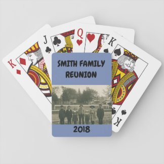 FAMILY REUNION PLAYING CARDS VINTAGE CHILDREN