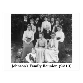 family reunion postcard