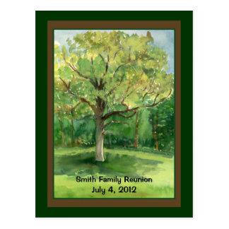 Family Reunion Postcard