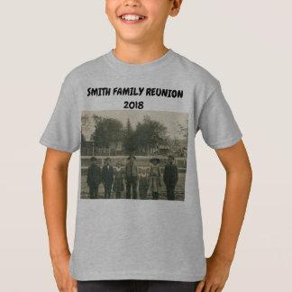 FAMILY REUNION T-SHIRT KIDS VINTAGE CHILDREN FAITH