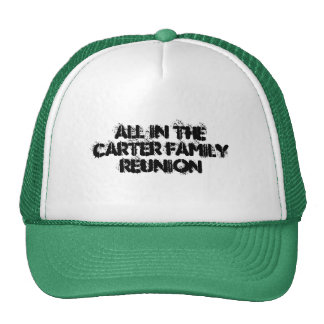 Family Reunion T-shirts All in the Family Reunion Mesh Hats