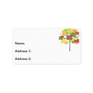 Family Reunion Tree Address Label