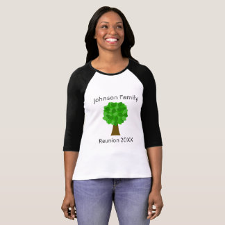 Family Reunion Tree - Customize It! T-Shirt
