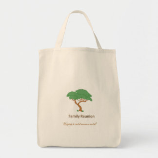 Family Reunion Tree - Grocery Tote