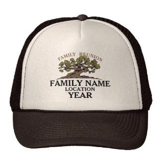 Family Reunion Tree Hat