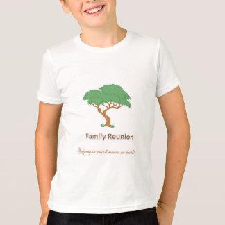 Family Reunion Tree - Kids Ringer T-Shirt