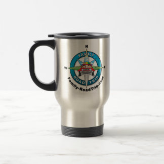 Family-RoadTrip.com Stainless Steel Travel mug