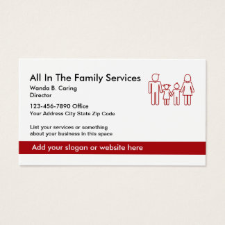 Family Services Center Business Profile Cards