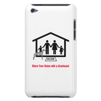 Family Share Home with Greyhound iPod Touch Cover