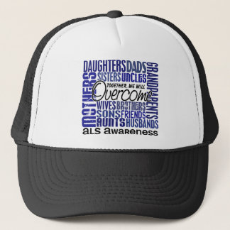 Family Square ALS Trucker Hat