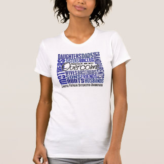 Family Square CFS Chronic Fatigue Syndrome T Shirt