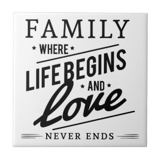 Family time ceramic tile