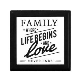 Family time gift box