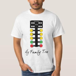 Family Tree - Drag Racing T-Shirt