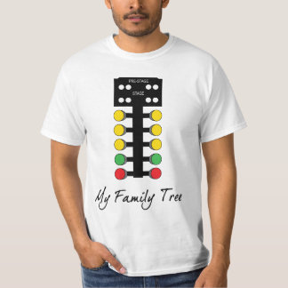 Family Tree - Drag Racing Tee Shirt