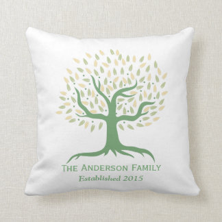 Family Tree Cushions - Family Tree Scatter Cushions Zazzle.com.au