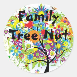 Family Tree Nut Sticker