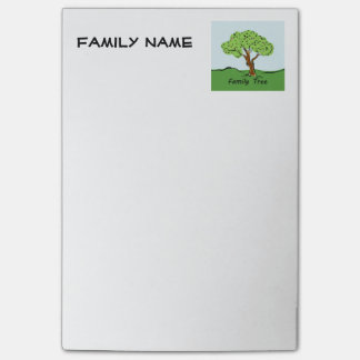Family Tree Post It Post-it Notes