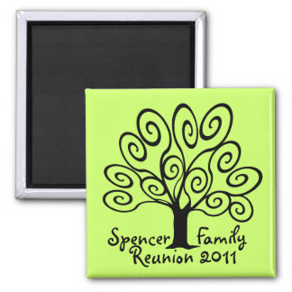 Family Tree Reunion Magnet