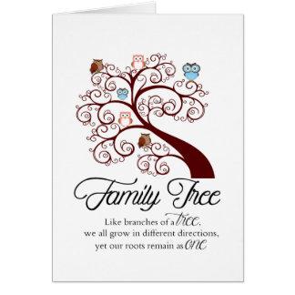 Family Tree Unique Card