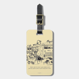 Family Vacation Luggage Tag