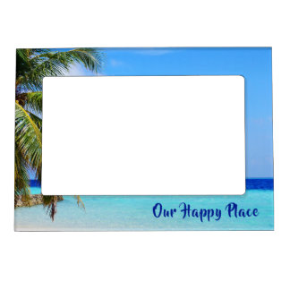 Family Vacation Memory Happy Place Magnetic Frame