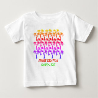 Family vacation Palm Trees Baby T-Shirt