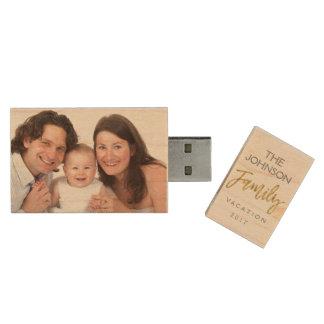 Family Vacation Photos USB Thumb Drive