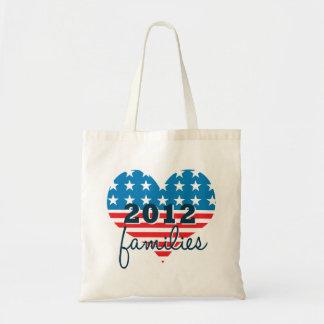 Family Values Repulicans 2012 Budget Tote Bag