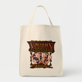 Family Vaughn Reunion  Grocery Tote Bag