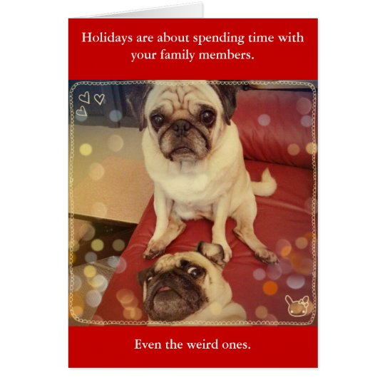Family Weirdos Card