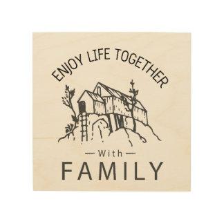 Family Wood Wall Art