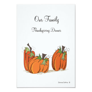 Familyn thanksgiving Dinner invitation