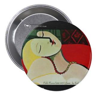 Famous Artist 7.5 Cm Round Badge