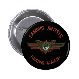 Famous Artists Paintball Pins