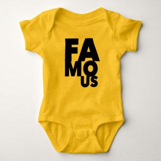 Famous Baby Bodysuit