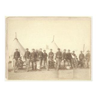 Famous Battery E 1st Artillery & 3 Hotchkiss Guns Photo Art
