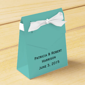 Famous Blue Wedding | Favor Box Party Favour Boxes