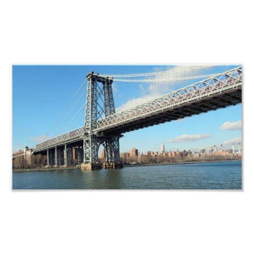 FAMOUS BRIDGE IN NY PHOTOGRAPH