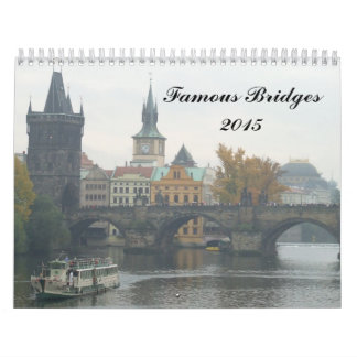 Famous Bridges 2015 Wall Calendars