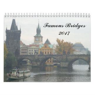 Famous Bridges 2017 Calendar